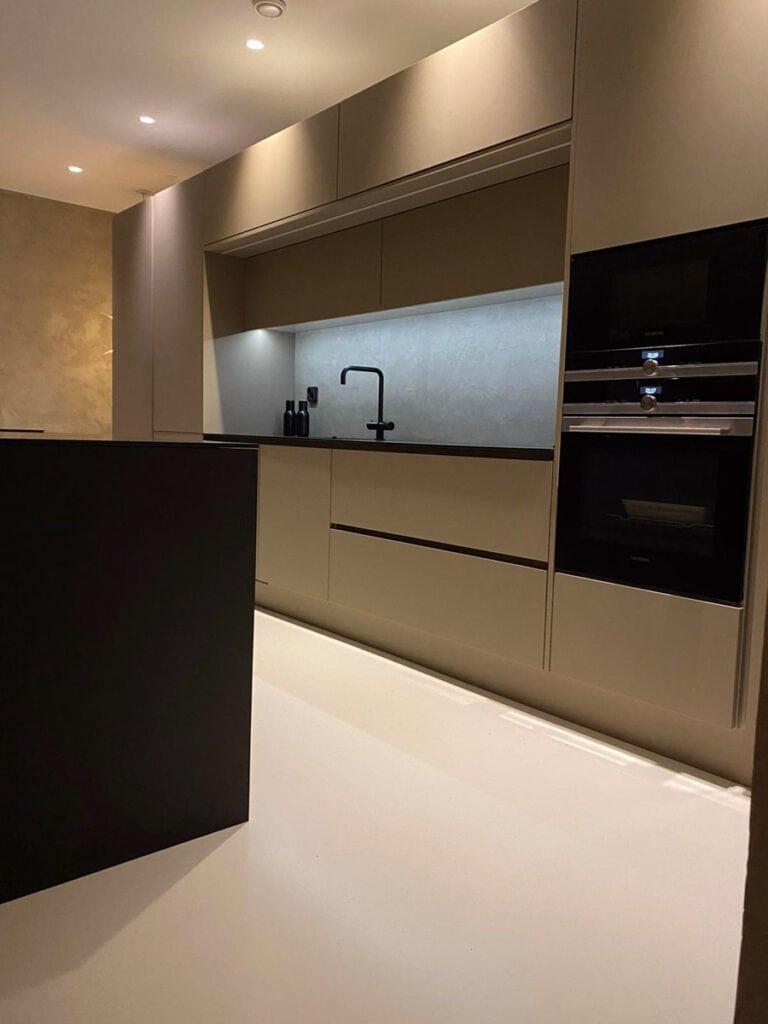 Mivox kivitaloissa on panostettu keittiiden moderniin ja käytännönläheiseen tyyliin.